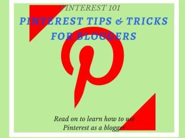 Pinterest tips and tricks for bloggers