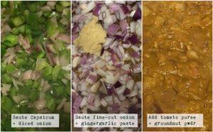 Capsicum or Bell pepper masala curry recipe