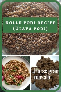 Kollu podi aka Horse Gram Masala recipe is a tasty way to lose weight ;) Read on to know how to make this easy dish that is super tasty and healthy.