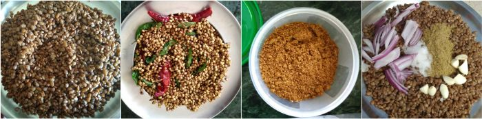 Kollu podi / Ulava podi recipe aka Horse Gram Masala recipe is a tasty way to lose weight ;) Read on to know how to make this easy dish that is super tasty and healthy.