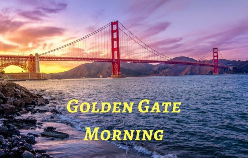 Golden gate morning