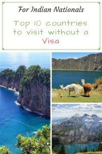 Top countries to visit without a visa for Indians