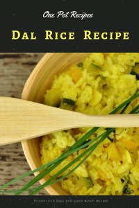 Dal Rice recipe. Parupu saadam recipe for a protein rich easy and quick one pot lunch recipe.