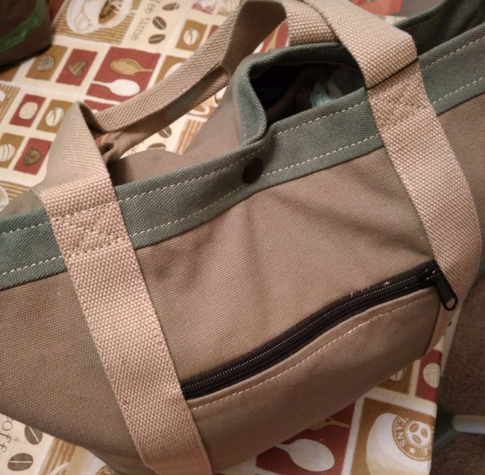 Keokee tote with organizer insert review - stylish look