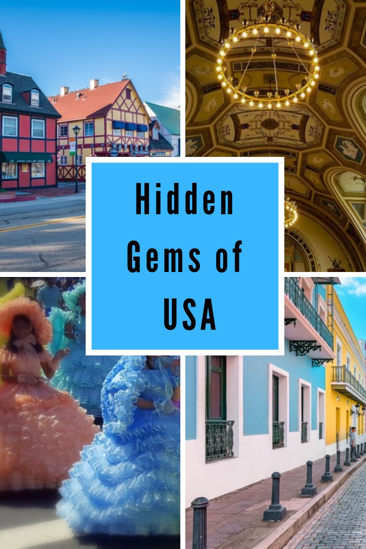 Discover more than 20 hidden gems of USA and take a unforgettable vacation without the crowds