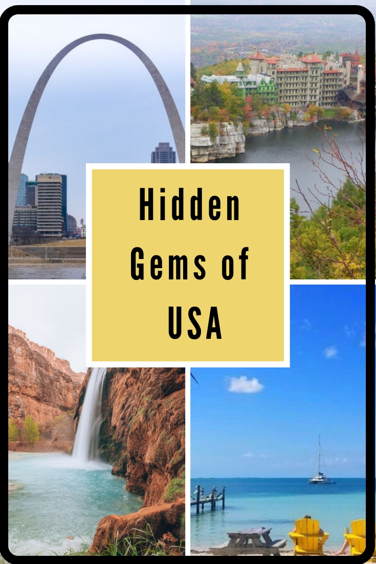 Hidden gems of USA: Find out where you can visit to enjoy the best of USA while avoiding the crowds!