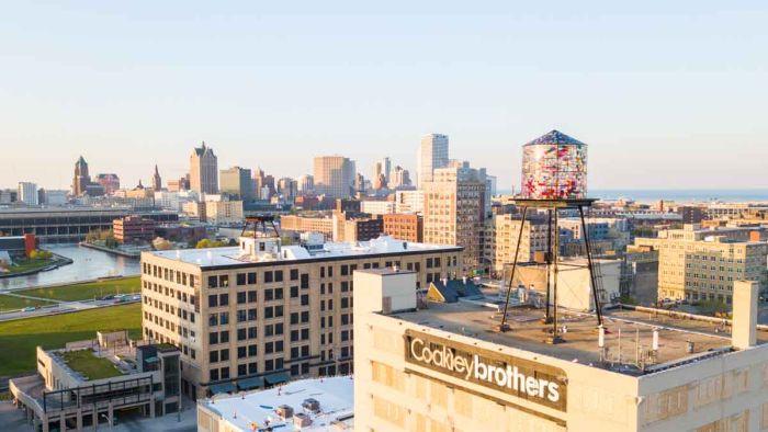 Milwaukee Wisconsin Skyline