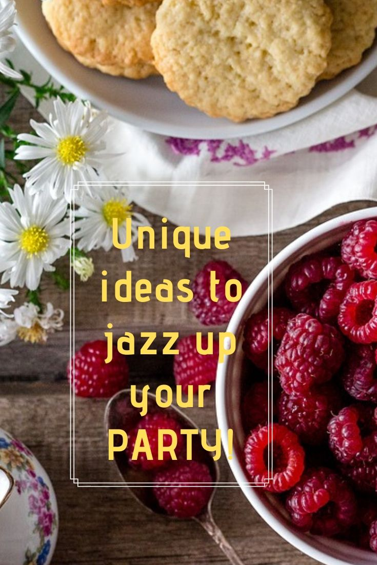 Check out these unique ideas to liven up your next big party!