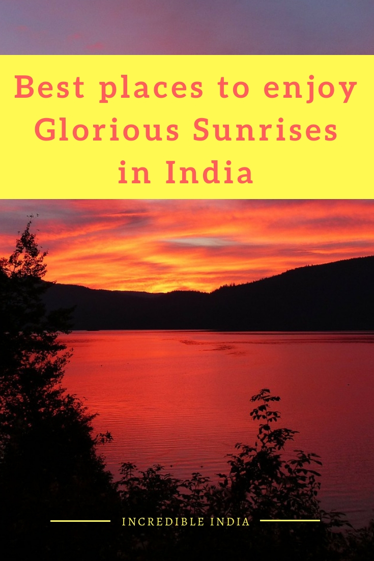 Best places to witness beautiful sunrises in India