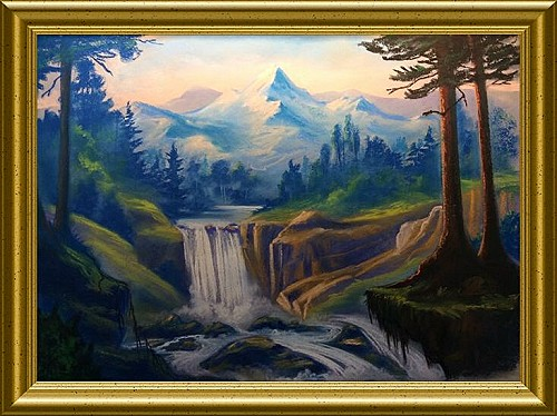 Wilderness SerenityScape Pastel