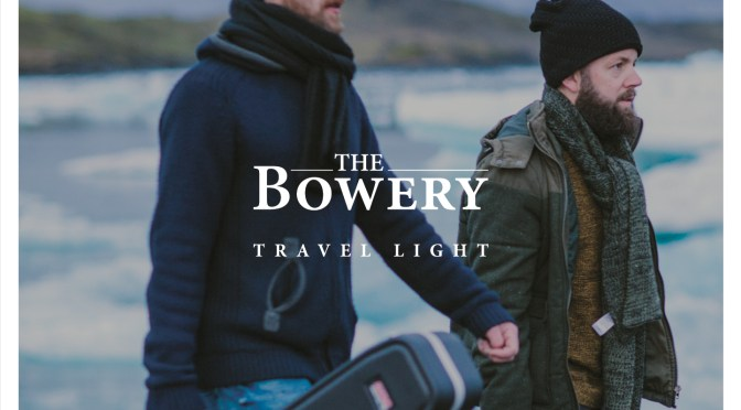 Nieuwe single The Bowery 'Travel Light'