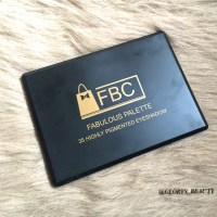 REVIEW/SWATCHES - FBC BEAUTY FABULOUS EYESHADOW PALETTE.