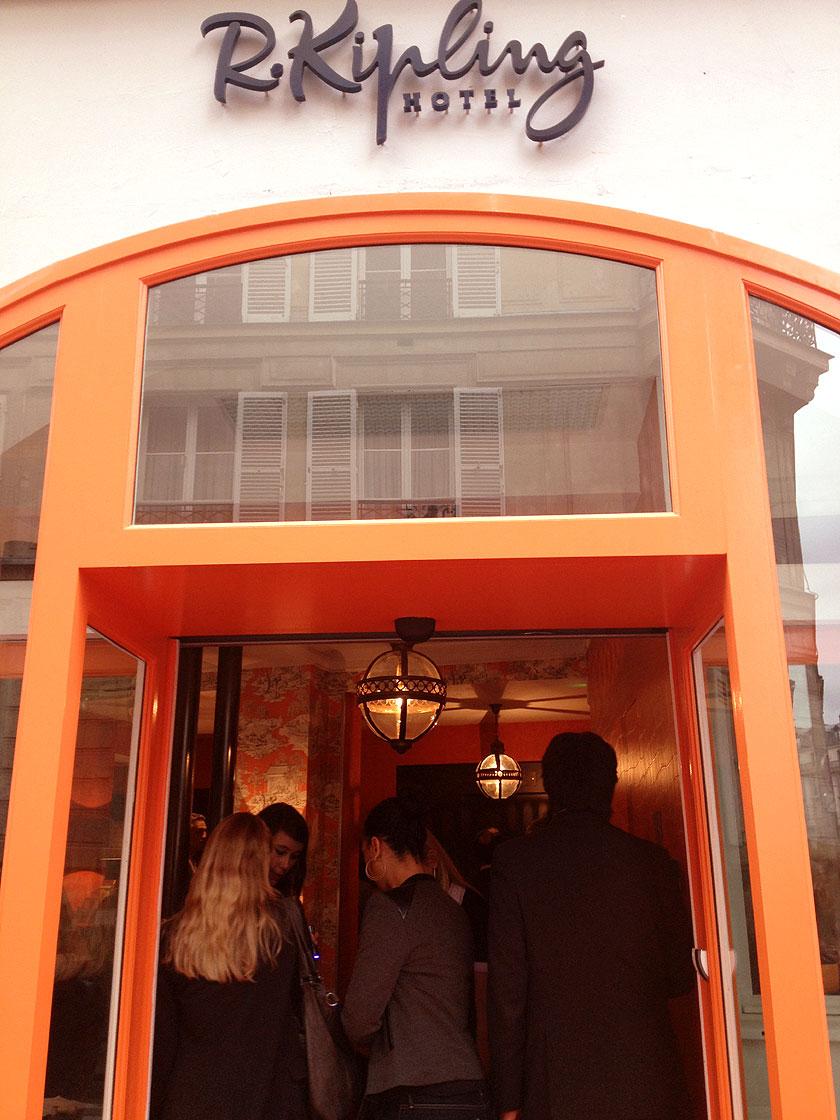 Petite Visite Hors Du Temps LHtel R Kipling Paris