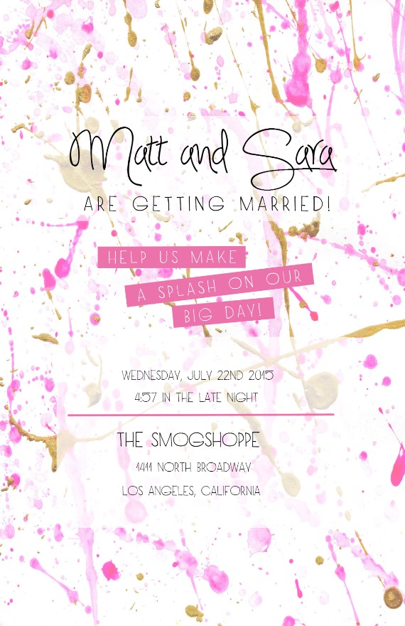 Wedding S Email Invitation Template