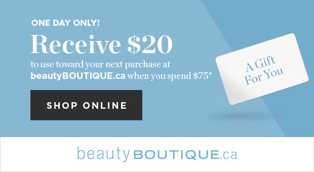 Beauty Boutique Canada Shoppers Drug Mart Canada April 2018 $20 Offer - Glossense