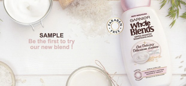 Garnier Canada Free Whole Blends Shampoo and Conditioner - Glossense