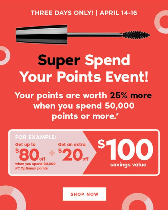 Shoppers Drug Mart Canada Beauty Boutique Canada April 2018 Spend Your Points Event - Glossense