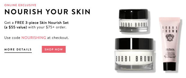 Bobbi Brown Canada Free Nourish Skin Set - Glossense
