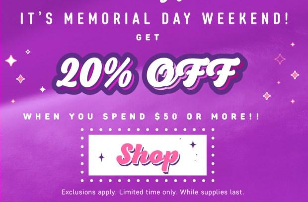ColourPop Canada Memorial Day Weekend Sale 2018 - Glossense