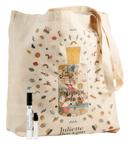 Juliette Has a Gun Canada Free Tote and Samples - Glossense