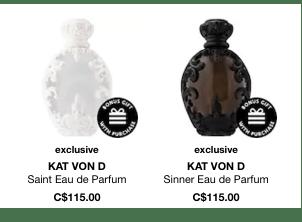 Kat Von D Saint and Sinner Eau de Parfum - Glossense