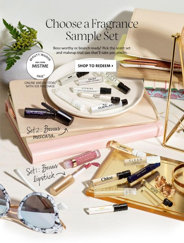 Sephora Canada Free Mist Me Perfume Fragrance Promo - Glossense
