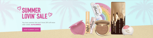 Too Faced Canada Hot Deal Summer Sale Summer Lovin' Sale 2018 Coupon Code Promo Code - Glossense