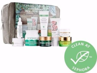 Sephora Canada Clean Beauty Canadian Favorites Set 2018 Deluxe Travel Trial Samples - Glossense