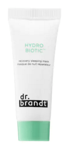 Sephora Canada Free Dr. Brandt Skincare Hydro Biotic Recovery Sleeping Mask Trial Sample - Glossense