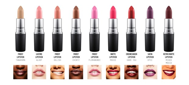 Mac Cosmetics Canada Choose your free lipstick colour or shade July 29 2018 July 29 2019 Canadian Freebies - Glossense