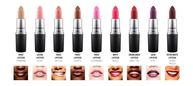 Mac Cosmetics Canada Choose your free lipstick colour or shade July 29 2018 July 29 2019 Canadian Freebies - Glossense