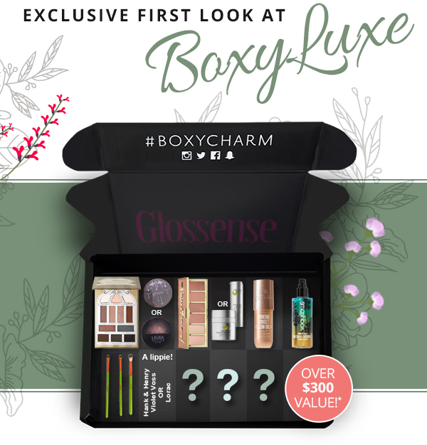 BoxyCharm Canada Canadian BoxyLuxe Subscription Box Full Spoilers September 2018 3 - Glossense