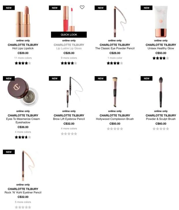 Charlotte Tilbury Canada Cosmetics Skin Care 5 - Glossense