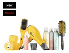 Sephora Canada 2018 Holiday Preview Event Drybar Brush Crush Bundle - Glossense