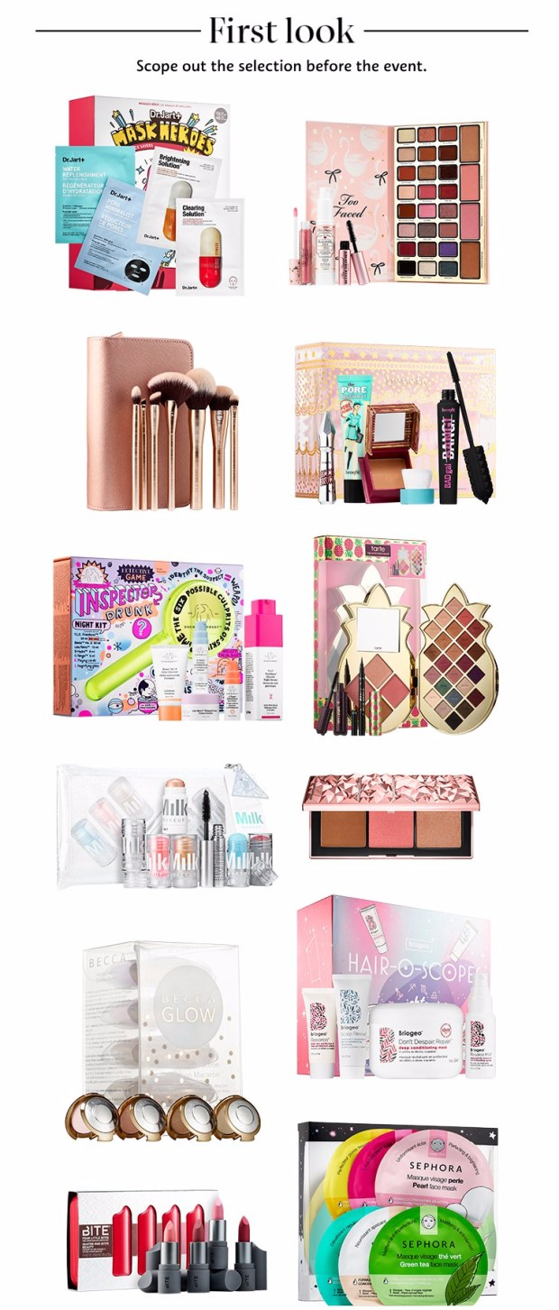 Sephora Canada Holiday Preview Exclusive Items Christmas Gift Sets Canadian Deals 2018 2019 First Look Beauty Cosmetics Skincare Makeup - Glossense