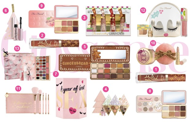 Too Faced Cosmetics Canada Sephora Canada 2018 Christmas Holiday Holidays Collection 2019 - Glossense