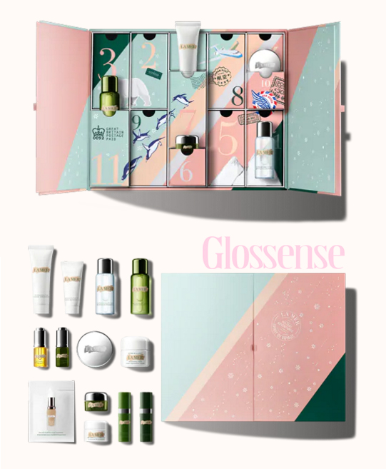 La Mer Canada Twelve Days of Radiance Collection 2018 Canadian Holiday Christmas Advent Calendar Full Contents Unoboxing 2019 - Glossense