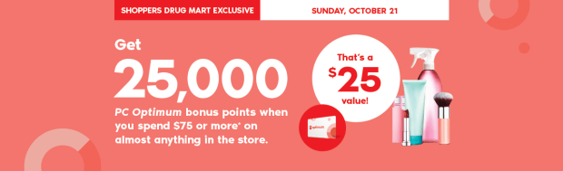 Shoppers Drug Mart Beauty Boutique SDM Canada Canadian Multiple PC Optimum Points Event Exclusive Sunday October 21 2018 - Glossense