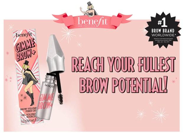 5b66ff5b195 Topbox Benefit Cosmetics Canada Instagram Canadian Freebie Freebies Free  Gimme Brow Deluxe Sample - Glossense