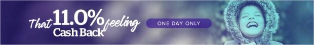 Ebates.ca Ebates Canada Canadian Cash Back Singles Day Event November 11 2018 2019 - Glossense