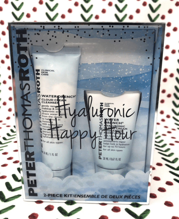 Sephora Canada 2018 Canadian Black Friday Deals Sale Promo Peter Thomas Roth Water Cream Hyaluronic Happy Hour Set - Glossense