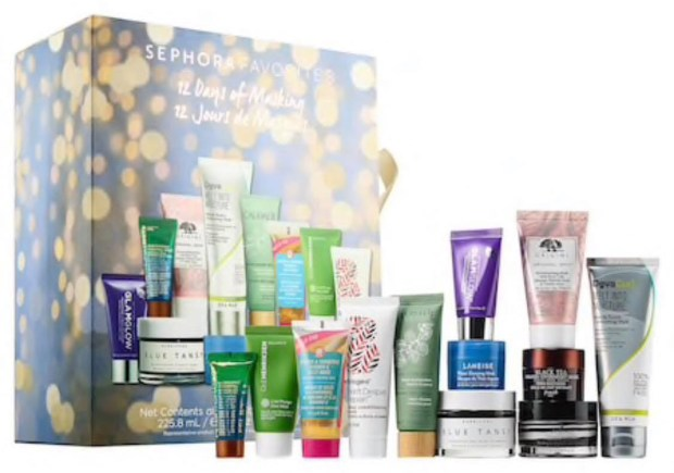 Sephora Canada Favorites Favourites Set - 12 Days Of Masking | 2018 Canadian Beauty Holiday Christmas Advent Calendar - Glossense