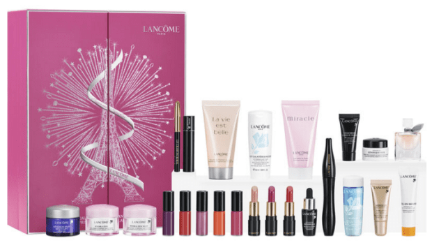 Shoppers Drug Mart Canada Beauty Boutique SDM Lancome 2018 Canadian Advent Holiday Christmas Calendar Skincare Makeup - Glossense