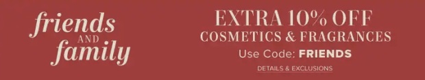 The Hudson's Bay Company Canada The Bay Canadian Friends and Family Beauty Sale Event Deals Save on Cosmetics Fragrance More Winter 2018 - Glossense