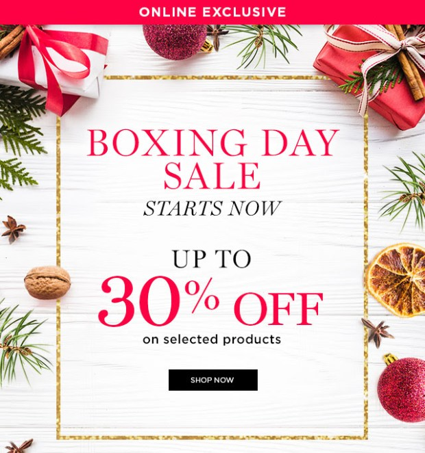 Lancome Canada 2018 Boxing Day Sale Canadian Boxing Week Deals Deal Sales Cosmetics Beauty 2019 - Glossense