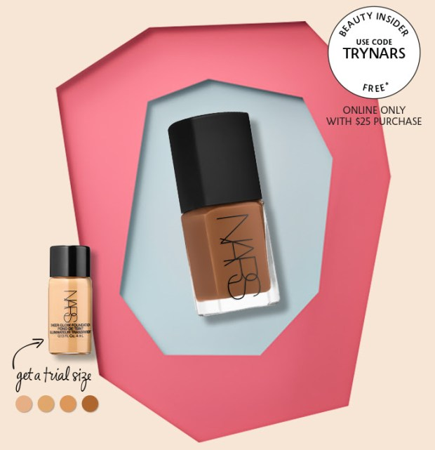 Sephora Canada Canadian Promo Code Coupon Offer Free Nars Foundation Concealer Trial Size Sample Gift GWP - Glossense