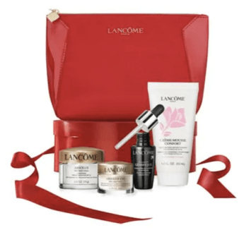 Hudson's Bay Beauty The Bay HBC Canadian GWP Gift with Purchase Offer Free Lancome 2019 Lunar New Year Beauty Gift Bag Travel Set Bag Deluxe Sample Canadian Freebies - Glossense