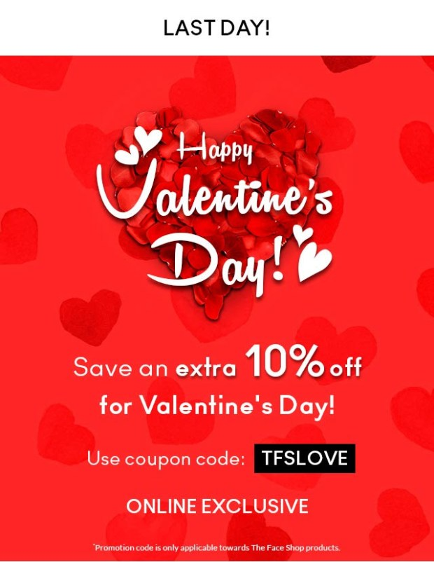 Nature Collection The Face Shop 2019 Valentine's Day Deals Sale Canadian Promotion Discount Coupon Code Promo Codes - Glossense