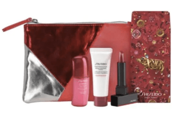 Shiseido Canada 2019 Canadian Chinese New Year Lunar New Year Bag Pouch Gift Set Free GWP