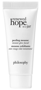 Sephora Canada Canadian Coupon Code Promo Codes GWP Gift with Purchase Free Philosophy Renewed Hope Peeling Mousse Mask Deluxe Mini Sample - Glossense
